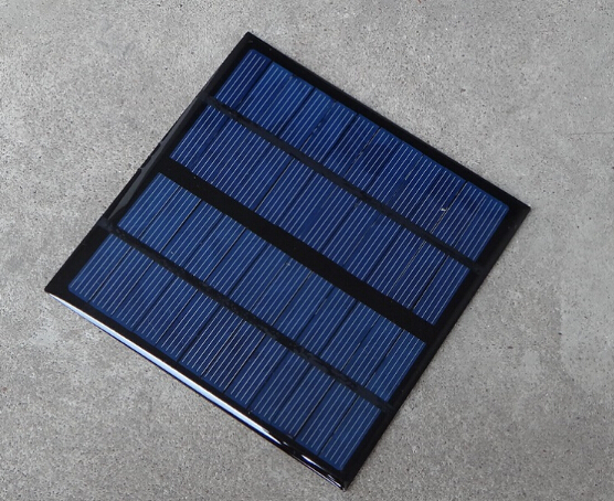 3W 9V Mini Poly-crystalline silicon PET solar panel(China (Mainland))