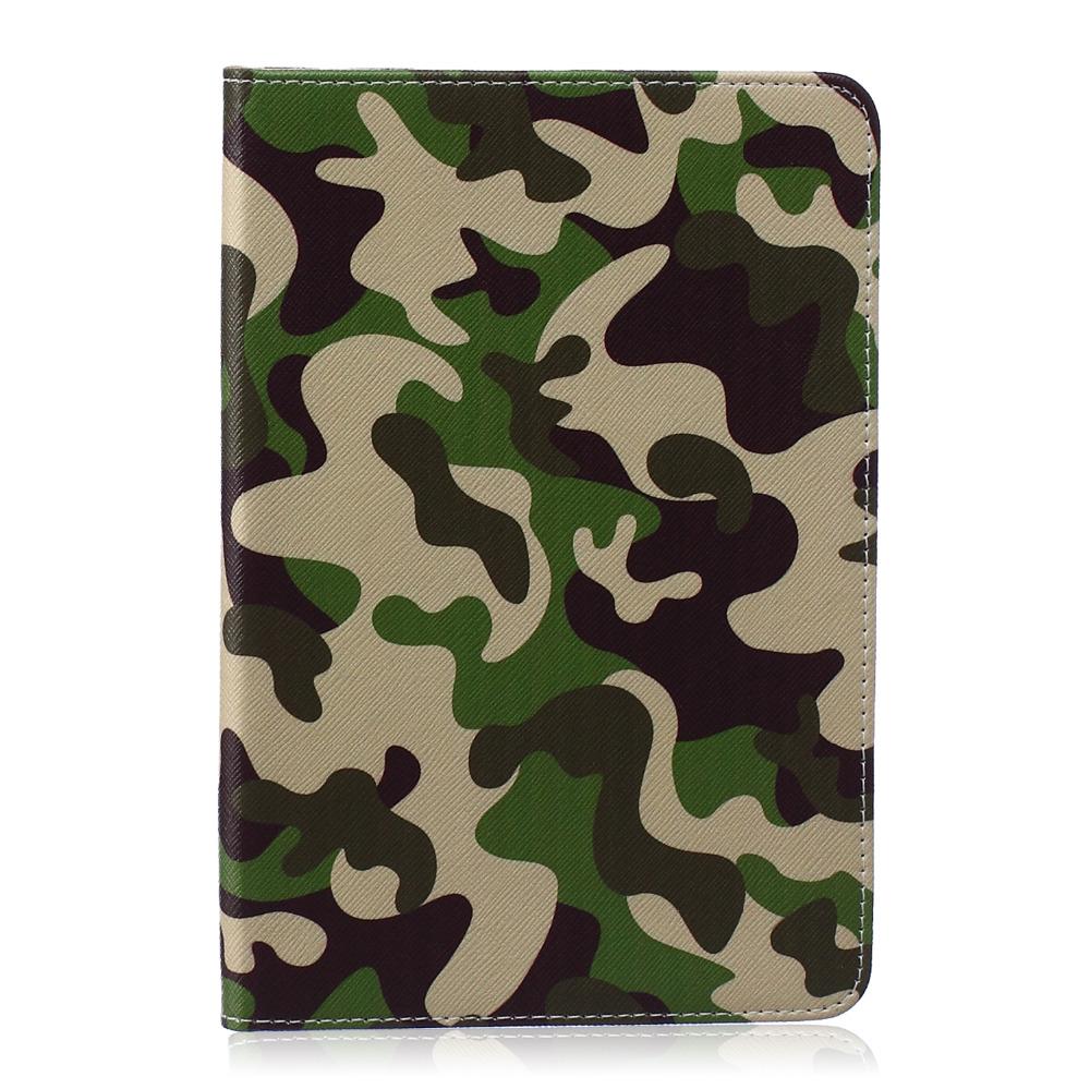 "Green Uniform pattern PU Leather Flip Case for Apple iPad air1 2 iPad mini1 2 3 iPad 2 3 4 pro 12.9 "" 9.7""Case With Card Holder(China (Mainland))"
