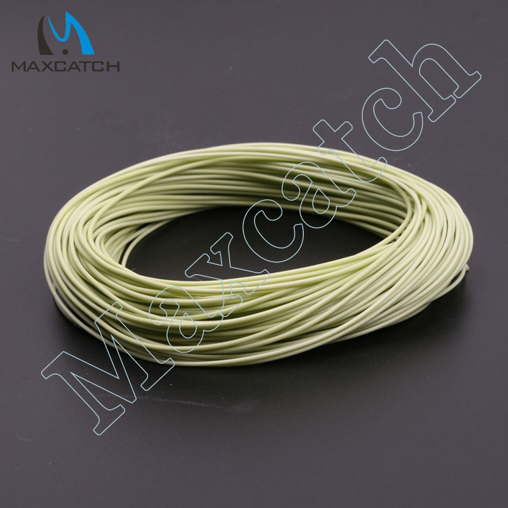 100FT Fly Fishing Line Moss Green Weight Forward Floating WF2-9F Fly Line Fish Line(China (Mainland))