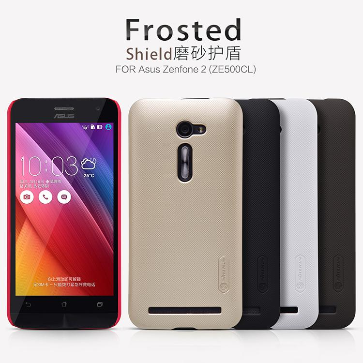 ZE500CL Case Cover Nillkin Frosted Shield Hard Armor ASUS ZenFone 2 Gift Screen Protector  -  East Yi breeze Oonline Store store