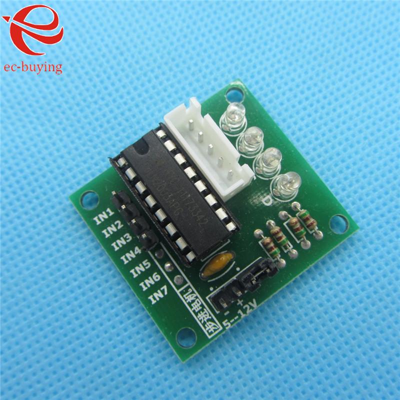 10pcs High-power ULN2003 Stepper Motor Driver Board Test Module For Arduino AVR SMD 5V-12V(China (Mainland))