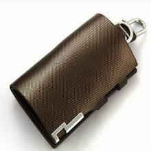 New Arrival Men's Coin Purse Genuine Leather Bag Car Key Holder Wallets Fashion Key Cases Black/Gold/Silver Men promotion gifts(China (Mainland))