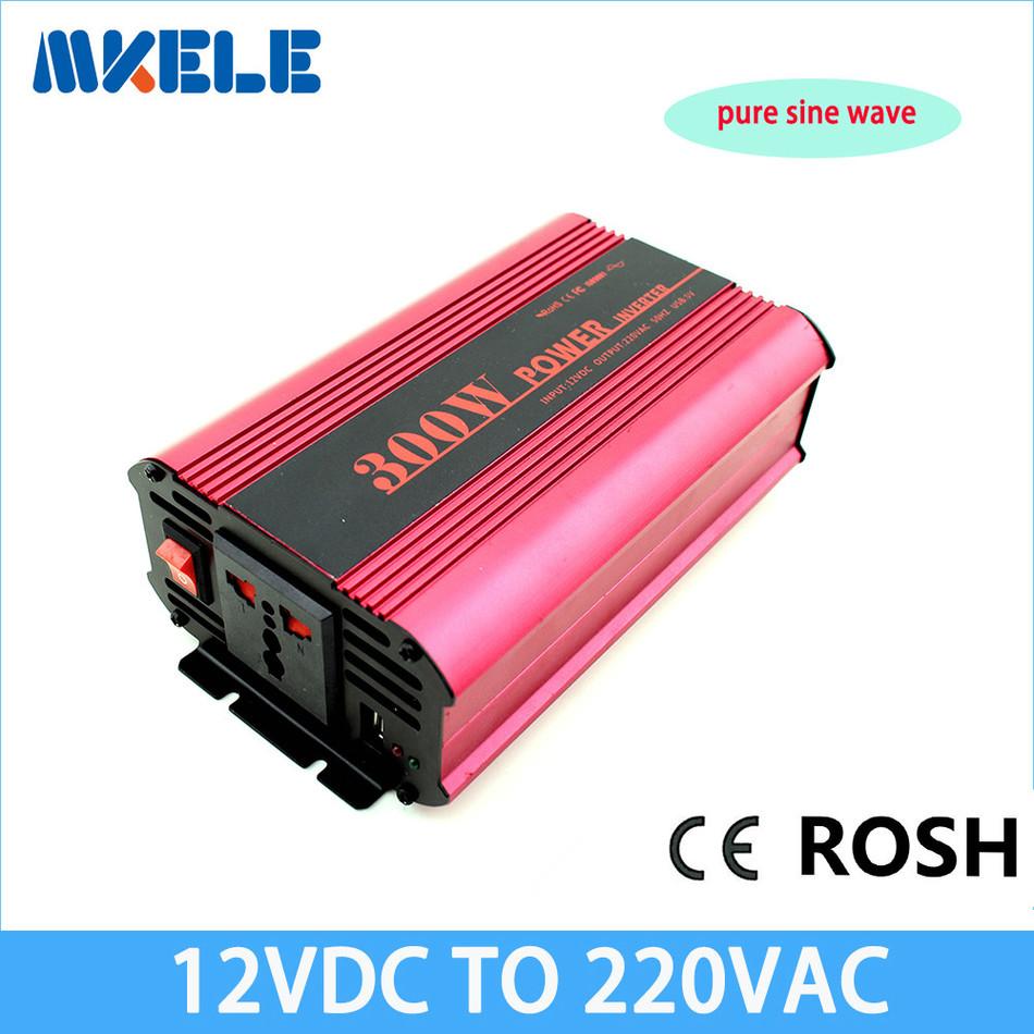 pure si ne wave inverter 12v to 220v 300w tronic power inverter circuits gr id ti e inverter off grid cheap inversor(China (Mainland))