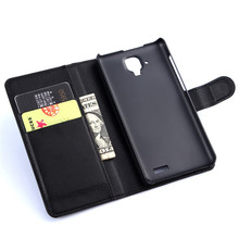 A536 Luxury Stand Funda Cover Slot Card Wallet Style Flip Buckle PU Leather Capa For Lenovo