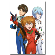Neon genesis evangelion silk poster 13×20 24×36 Sexy anime girl Pictures for Room Decor 029