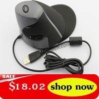 2PCS Vertical Mouse Wired Wired Ergonomic Vertical Optical Mice Mouse Vertical Mause USB Wrist Healing For Laptop PC Computer