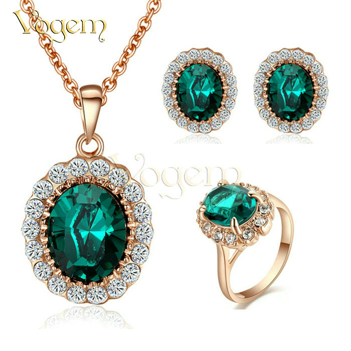 Vogem amazon hot selling kate middleton jewelry emerald for Selling jewelry on amazon