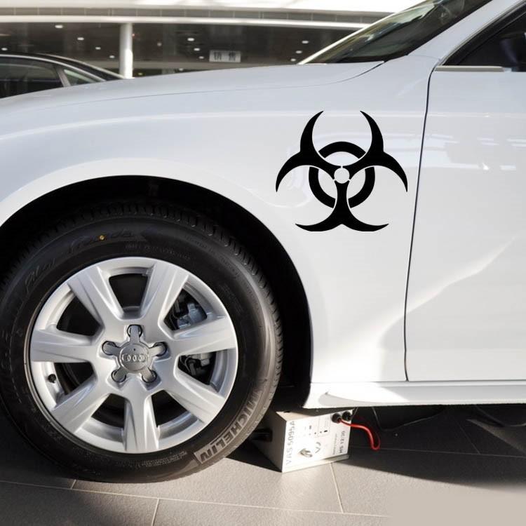 Resident Evil Vinyl Fuel Tank Cap Car Sticker Custom Modified Car - Custom vinyl decals covering for motorcycles