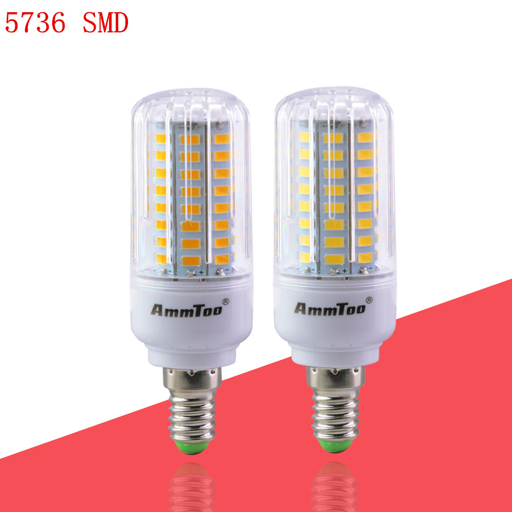 led lamp E14 220v light bulbs led 3w 5w 7w 9w 12w 15w 5736 luz led lampada replacement bulbs for chandelier lighting hot sale(China (Mainland))