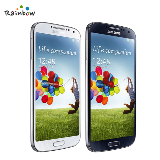 """100% оригинальные Samsung Galaxy S4 i9500 i9505 мобильный телефон 13MP камера 2 ГБ оперативной памяти 16 ГБ ROM 5.0 """" дюйма 1920 X 1080 отремонтированы сотовый телефон"""