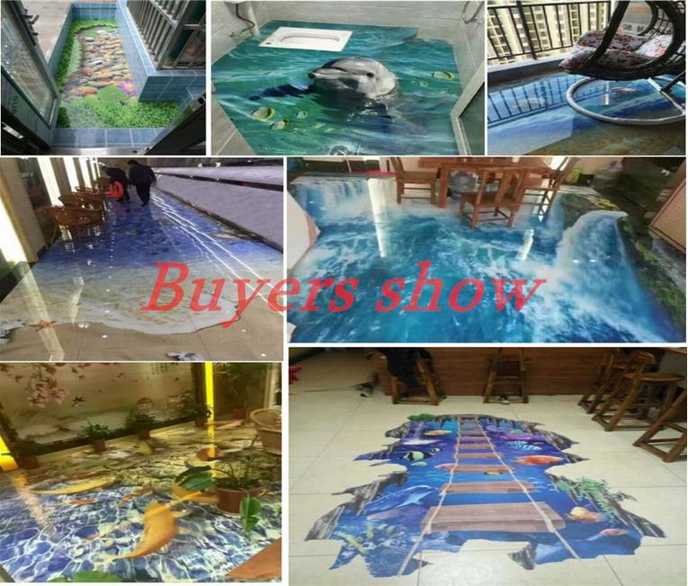 ୧ʕ ʔ୨3d Floor Murals Wallpaper っ Custom Custom