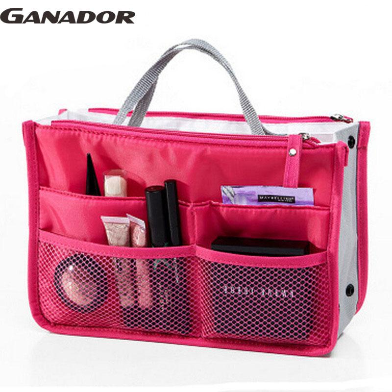 Ganador travel bag women cosmetic cases nylon travel bags cosmetic organizer women pouch bags storage makeup waterproof LM2136(China (Mainland))