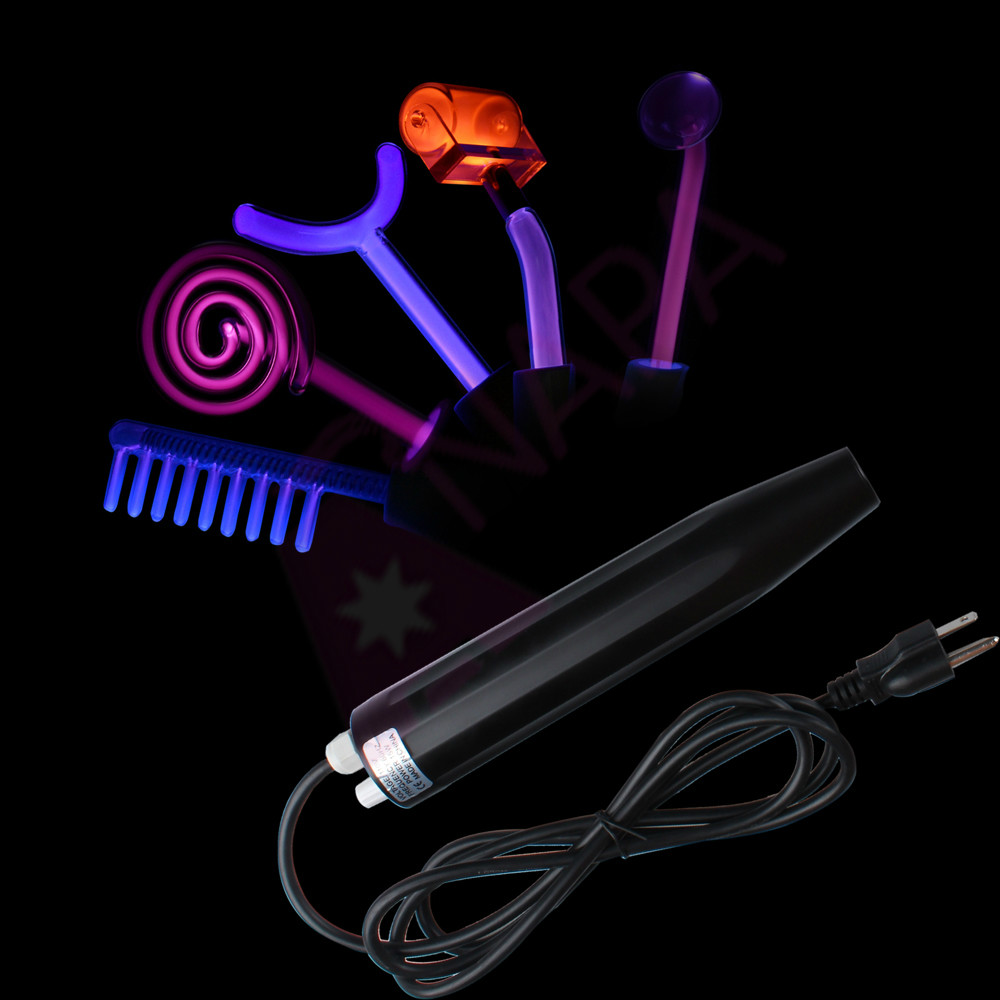 """D""""arsonval High Frequency Violet Light Anti Aging Therapy With Retail Box(China (Mainland))"""