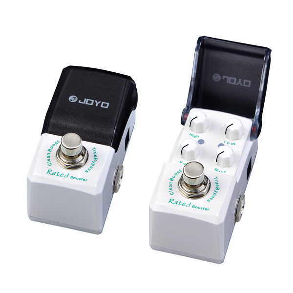 New Joyo Ironman Series JF-301 Rated Boost Clean Booster Mini Smart Effect Pedal<br><br>Aliexpress