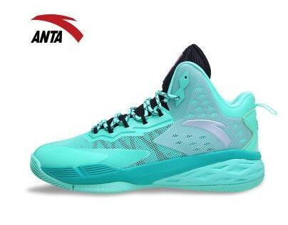Free shipping 100% authentic Anta basketball shoes men 2016 new cotton rubber red green blue purple orange size 6.5-10.5(China (Mainland))