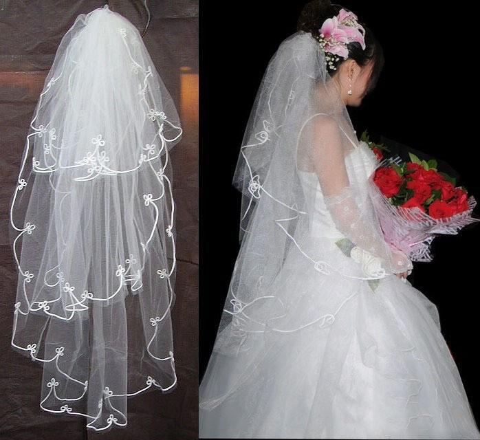 Своими руками фату на свадьбу