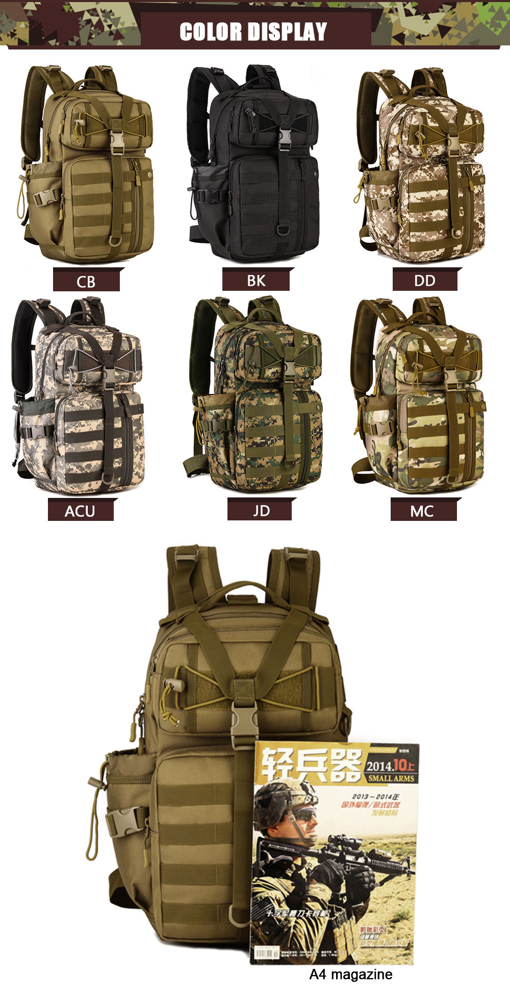 HTB11RniQFXXXXXZaXXXq6xXFXXX5 - SINAIRSOFT Outdoor Tactical Backpack 900D Waterproof Army Shoulder Military hunting camping Multi-purpose Molle Sport Bag LY0057