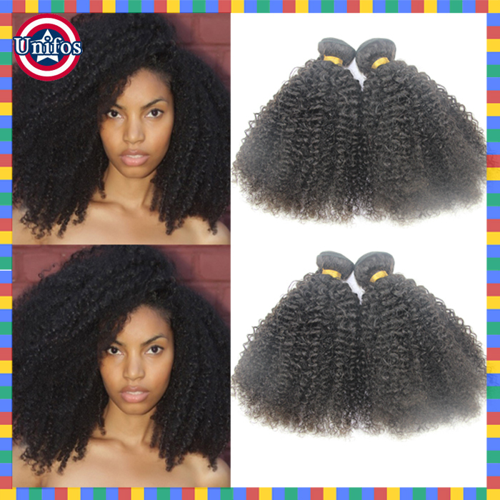 Brazilian Afro Kinky Curly Virgin Hair 3pcs Afro Kinky Human Hair Extension Tissage Brazilian Hair Weave Bundles Afro Kinky Hair