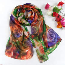 2016 New Design Women Leopard Print Pure Silk Scarf 180*110cm Brand Mulberry Silk Design Long scarf Wraps For Autumn,Winter(China (Mainland))