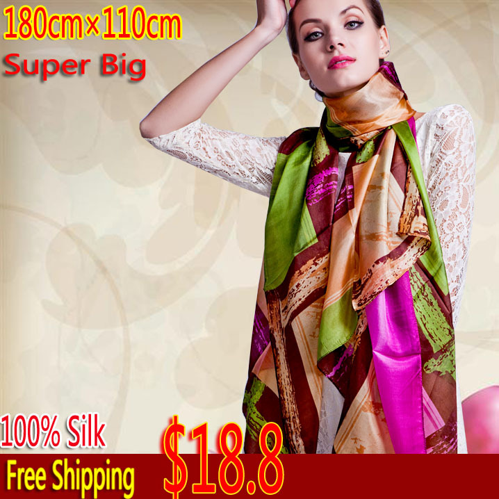 2014 Newest Womens Silk Shawls Scarf, Rectangle Shawls, Free shipping 20 designs Muslim Hijab Muslim Y01 Одежда и ак�е��уары<br><br><br>Aliexpress