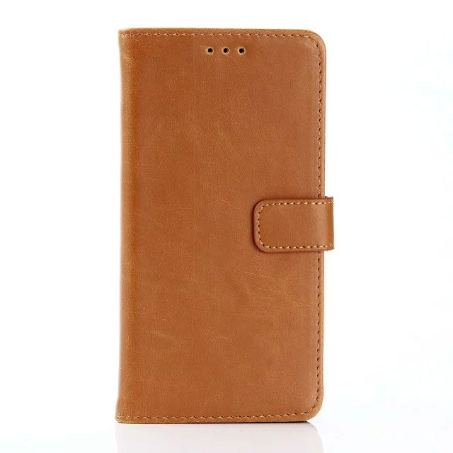 Leather Flip Case Cover for LG CAM Wallet Case for LG CAM Luxury Phones Accessories(China (Mainland))