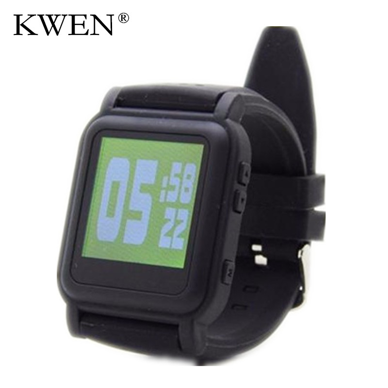 KWEN New Arrival Free shipping MP4 Watch 8GB Memory eBook watch Support e-book reader Music player Different language free ship(China (Mainland))