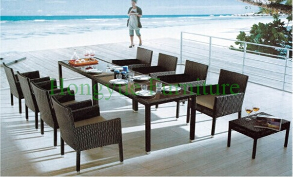 Wicker dining sets furniture manufacturer in China in