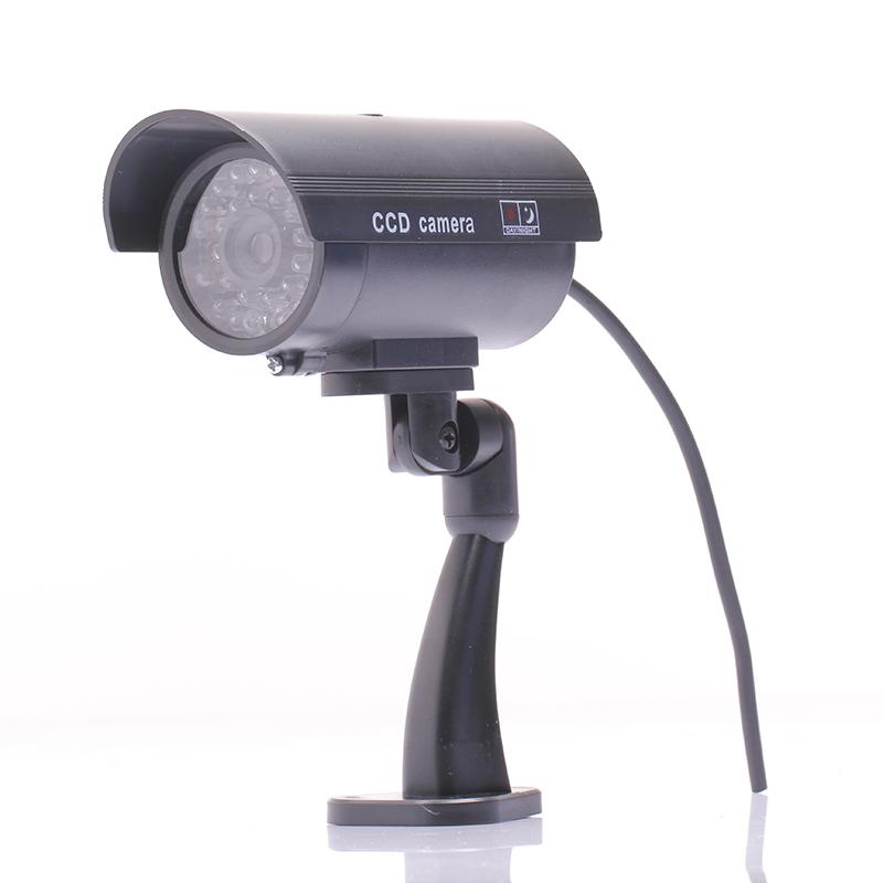 Waterproof Outdoor Indoor Fake Security Dummy CCTV Surveillance Camera Night CAM LED Light(China (Mainland))