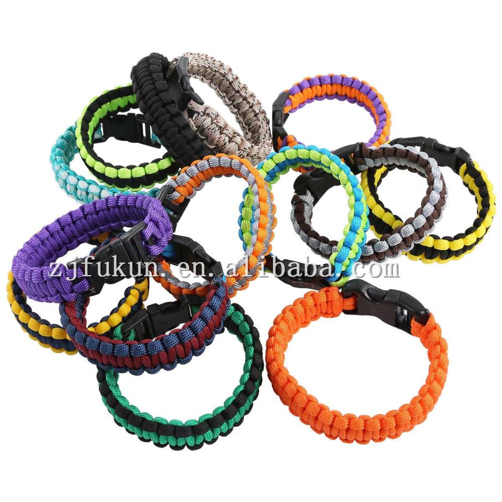 20 см до кобра переплетения / плетеный детей выживания браслет, Ручной Paracord браслет для ребенка оптовая продажа