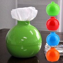 Creative Round Ball Shape Tissue Box Paper Roll Hoder Home Bedroom Decor Popular New(China (Mainland))