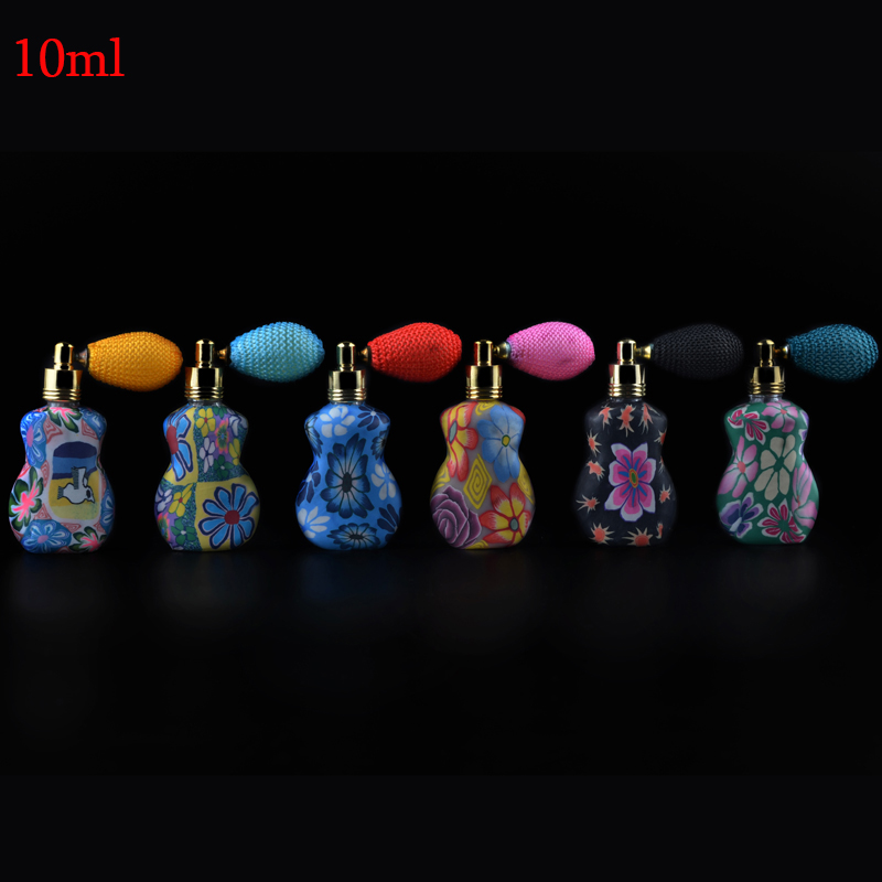 10ml (3Pieces/Lot) China Unique Perfume Gasbag Airbag Sprayer Atomizer Bottles Atomize Spray Refillable Beautiful Perfume Case(China (Mainland))