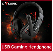 Brand Q7 USB Gaming Headphone Headset With Microphone and Volume Control For Computer Gamer Supper Bass Earphone fone de ouvido