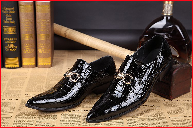 NEW Italian Style genuine leather shoes mens fashion brand design oxfords business casual lace-up dress shoes for men sl19<br><br>Aliexpress