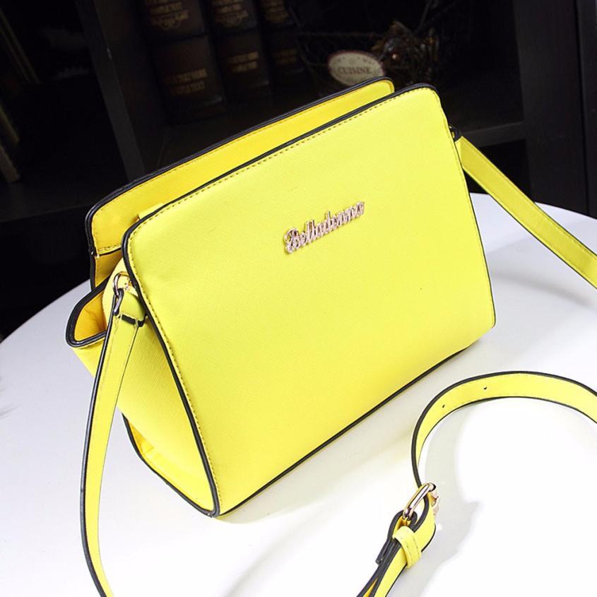 Women Leather Handbags  Handbag Shoulder Bags Tote Satchel Women Messenger  Bolsas Feminina #2458