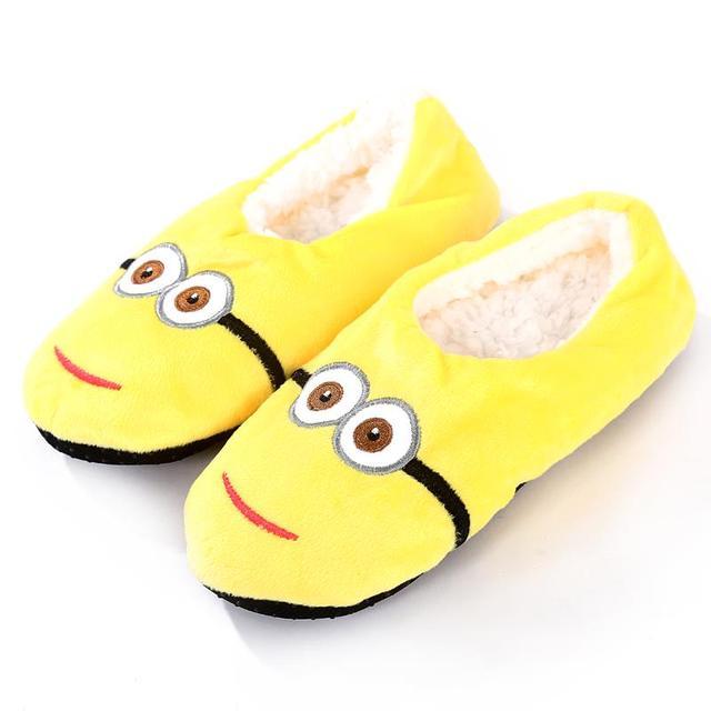 Mens Minion House Shoes