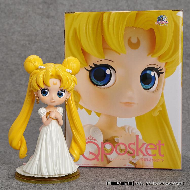 Sailor Moon Q Posket Tsukino Usagi Princess Serenity PVC Action Figure Collectible Model Toy 15cm 2 Styles SAFG046<br><br>Aliexpress