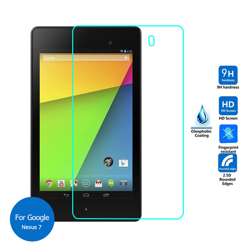 For Google Nexus 7 FHD Tempered Glass Screen Protector 9h Safety Protective Film For Asus Razor Me571K Me571KL 2013 Nexus7 Eu(China (Mainland))