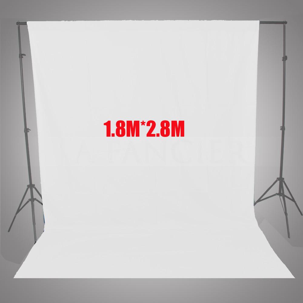 1 8 2 8M 6FT 9FT Photo lighting studio 100 Cotton Chromakey Chromakey White screen Muslin