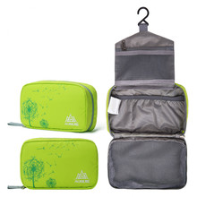 Outdoor Camping Travel Toiletry Kits Foldable Waterproof Cosmetic Organizer Sport Washing Bag(China (Mainland))