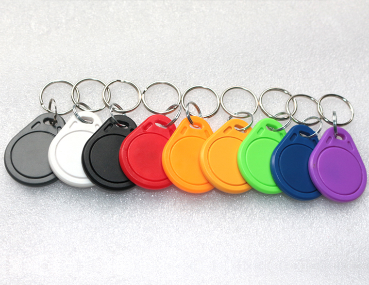 500pcs/bag 125Khz RFID Proximity EM ID Card Token Tags Key Keyfobs for Access Control Time Attendance(China (Mainland))