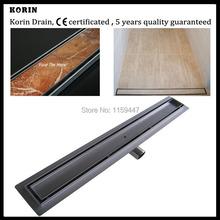 1000mm «TILE INSERT» Stainless Steel 304 Linear Shower Drain, Horizontal Drain, Floor Waste, Tile Insert Deodorant floor drain