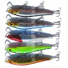 Fishing lure bait minnows driving depth metal spoons fish hook lure hard artificial bait fishing tackle 30pcs/lot FL32
