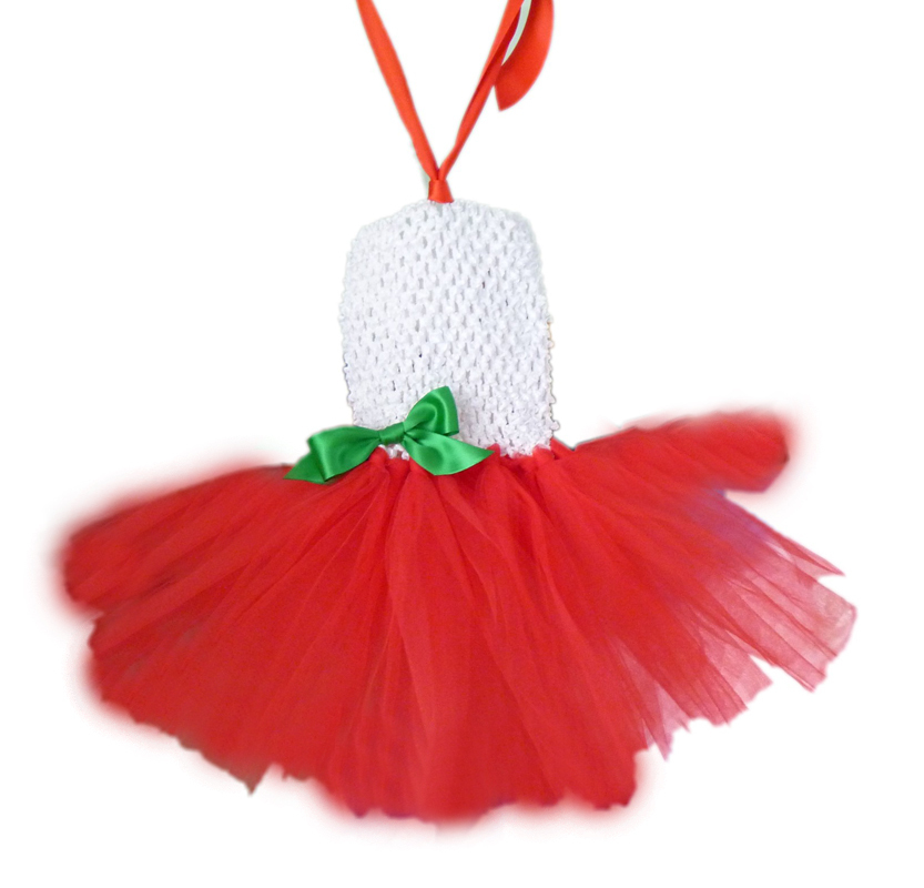 2014 Christmas crochet tube baby dress,popular tutu set free shipping(China (Mainland))