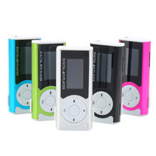1.3″ Mini USB Clip LCD Screen MP3 Media Player Support 16GB Micro SD TF