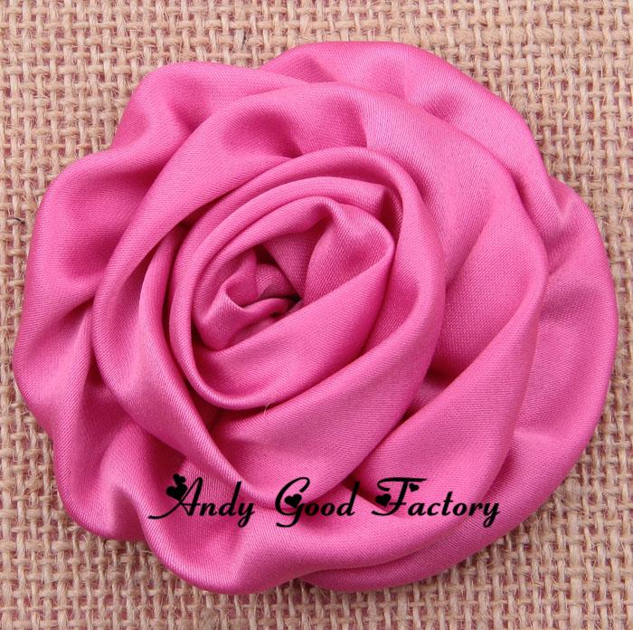3.2 Fabric Headband Flowers Chic Artificial Flowers for Baby Headdress Girls Headwear Children Hair Accessories 100pcs FL087<br><br>Aliexpress