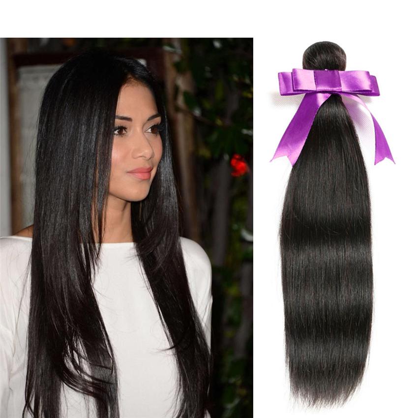 8A Rosa Hair Products Brazilian Virgin Hair Single Bundle 1 Bundle Of Brazilian Straight Hair Unprocessed Brazilian Human Hair