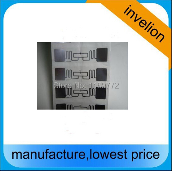 ISO18000-6C RFID UHF label / rfid sports timings chip alien 9662 read/write label stickers uhf rfid tag marathon 840-960mhz(China (Mainland))