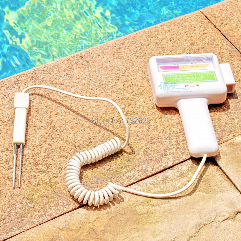 Buy Swimming Pool Accessories High Quality Tester Abs Spa Pool Ph Cl2digital