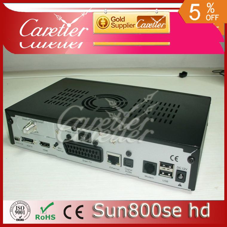 4pcs/lot Sunray DM800 hd se box Black& white Color DVB 800SE HD digital satellite receiver Sim 2.10 (4PCS 800SE)(China (Mainland))
