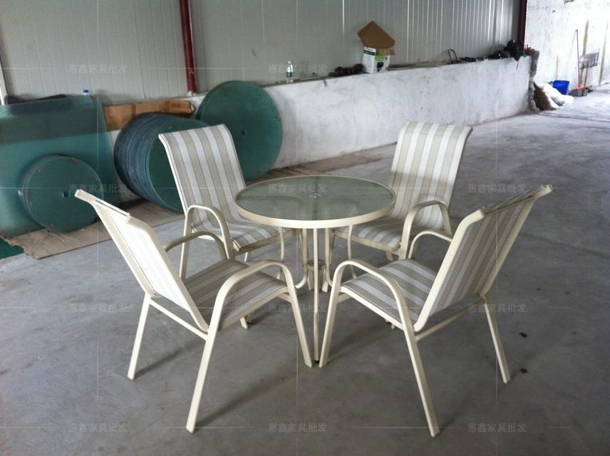 Outdoor furniture white aluminum tables. http www alibaba co.